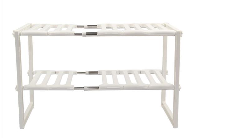verstellbar k che badezimmer unter waschbecken st nder regal einheit organizer ebay. Black Bedroom Furniture Sets. Home Design Ideas