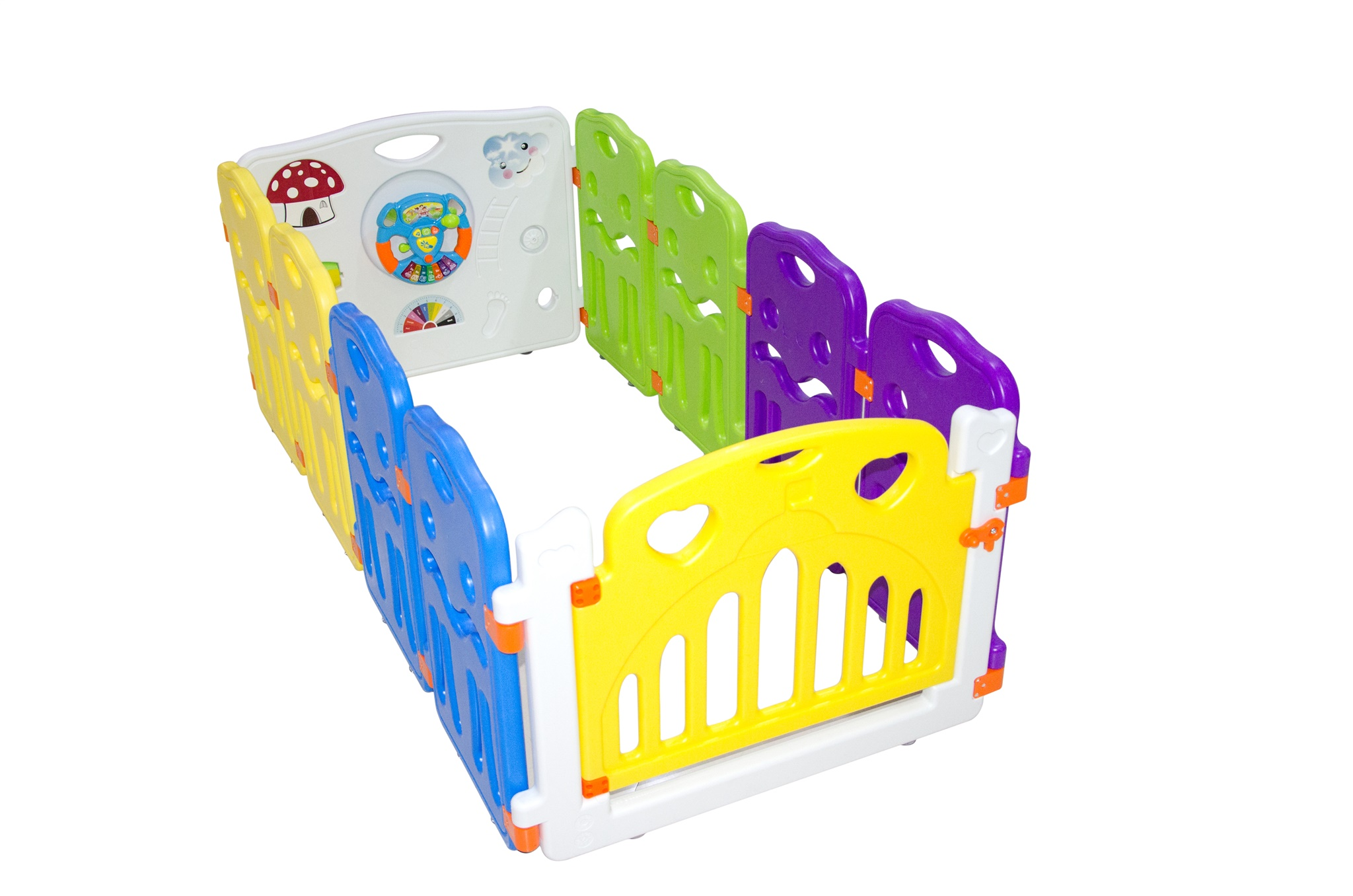 10 Panel Portable Foldable Kids Baby Indoor Outdoor Saftey Game