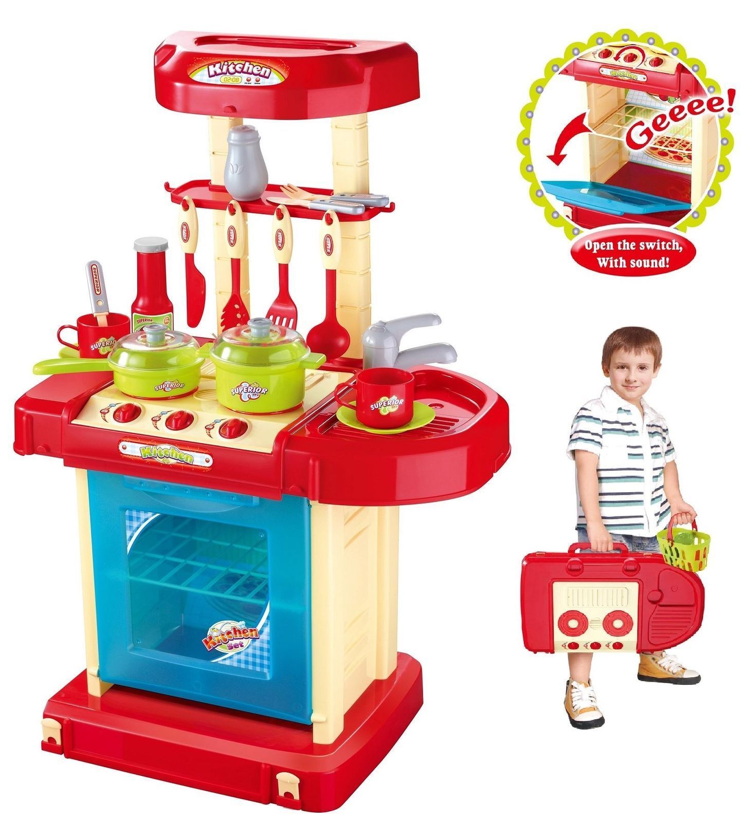 k che kinder kochen vorschule spielsachen koch spielset f r jungen m dchen ebay. Black Bedroom Furniture Sets. Home Design Ideas