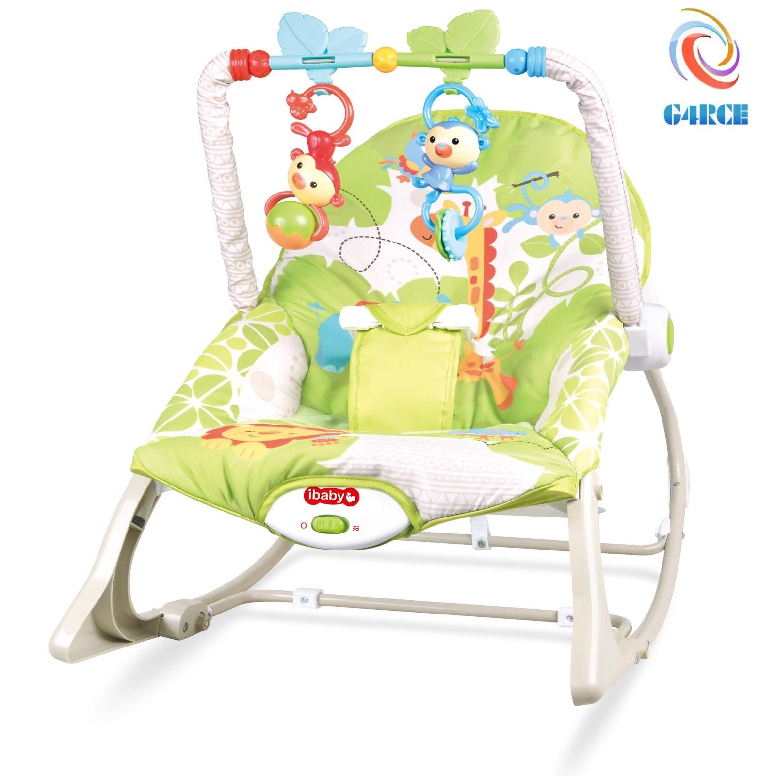 Details About Unisex Baby Rocker Swing Reclining Chair Bouncer Lay Play Hanging Toys 0m