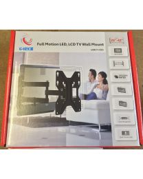G4RCE High Premium Quality Cantilever Arm TV Wall Mount Full Motion Tilt Swivel