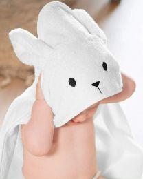 Imperium11 100% Cotton Hooded Bunny Rabbit Unisex Baby Kids Children Towel Wrap