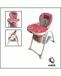 Hygrad Foldable 3 IN 1 Baby Toddler Infant Highchair Feeding Recliner Seat Chair