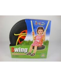 Kids Toddler Children Adjustable Tyre Rope Tree Swing Seat Outdoor Fun Birthday