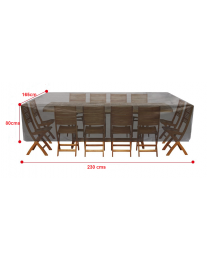 Garden Patio Furniture Set Cover Rattan Table Sofa Bench Rectangle Outdoor 420D