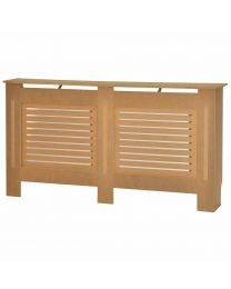 White/Natural Wood Radiator Heater Cover Case Cabinet Grill Protector In 5 Sizes