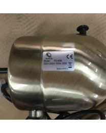 "G4RCE 16"" Metal Oscillating Pedestal Floor Standing Fan Remote Control & Timer"