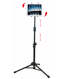 Adjustable 360 Rotating Foldable Tripod Stand Holder For Apple Ipad 1 2 3 4 Air