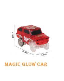 Kids Children Flexible Bendable Glow In Dark Car Race Track Set XMAS Gift Toy