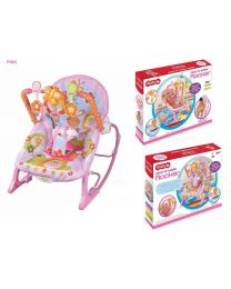 Solid Baby Rocker Bouncer Reclining Chair Soothing Music Vibration Toys 3 Design