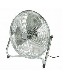 "18"" Metal High Velocity Floor Standing Industrial Gym 3 Speed Circulator Fan"
