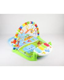 Baby Piano Safari Animals Gym Kick, Lay & Play Baby Toddler Gym Activity Mat UK