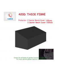 Waterproof Heavy Duty 420D Outdoor Garden Furniture 2 3 Seater Bench Cover