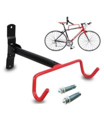 Solid Bike Bicycle Wall Mounted Rack Storage Hanger Holder Hook Foldable Fast UK