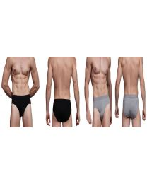 3 x Branded Boody Eco Wear Bamboo Organic Mens Briefs Knickers Hypoallergenic UK