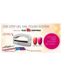 Haute LED One Step Salon Gel Nail Polish System Dryer UV Lamp Light TImer UK