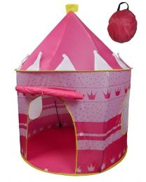 Pink Pop up Play Tent Castle Playhouse Kids Girls Children Outdoor/Indoor Games