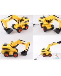 Popular Radio Controlled Kids Children Excavator Digger Tractor Truck Birthday