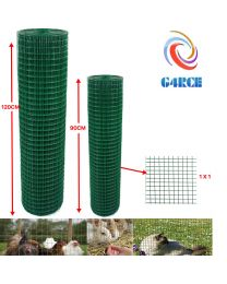 Green PVC Coating Wire Mesh Fencing Chicken Netting Rabbit Fence Pet Garden Fast