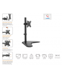G4RCE Adjustable LCD LED VESA TV Montior Desk Table Mount Stand Bracket 13''-32''