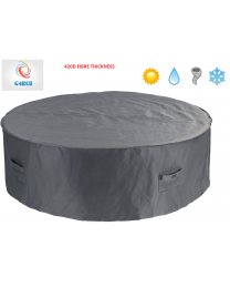 Patio Garden Outdoor Round Table & Chair Set 6/8 Cover Protector 420D 2 Sizes