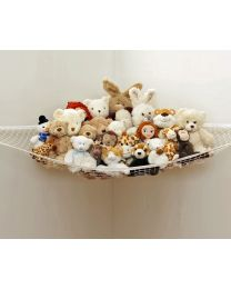 Large Toy Hammock Storage Net Nursery Kids Bedroom Storage Organiser No Mess UK